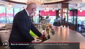 Bars et restaurants : ouverture sans restrictions en Île-de-France