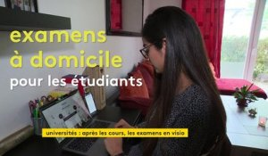 Examens à distance : les étudiants notent d'importantes difficultés