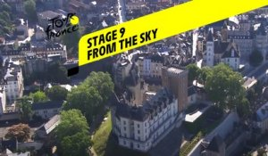Tour de France 2020 - Étape 9 vue du ciel / Stage 9 from the sky : Pau - Laruns