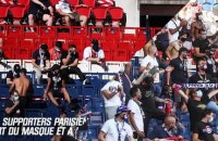 PSG – Celtic : Les supporters ont respecté la distanciation physique