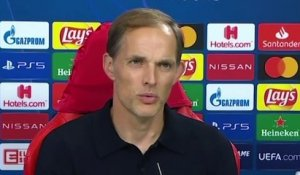 Football - Champions League - Thomas Tuchel press conference after PSG 2-1 Atalanta