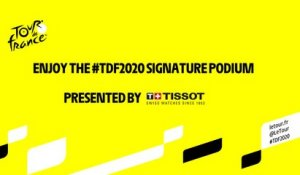 #TDF2020 - Live podium signature presented by Tissot - Étape 21/ Stage 21