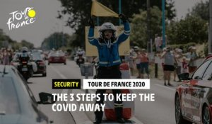 #TDF2020 - The 3 steps to keep the Covid away