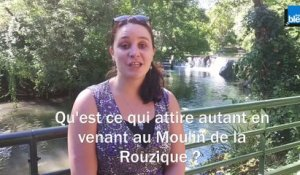 4 - Louise Lecallo, responsable du site du moulin de la Rouzique