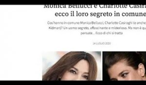 Monica Bellucci, Charlotte Casiraghi #8211;  un homme  #8211; Leur étonnant secret partagé (photo)