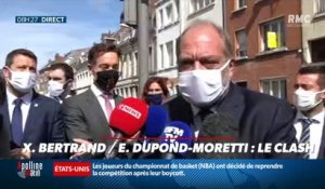 Charles en campagne : Xavier Bertrand/ Eric Dupond-Moretti, le clash - 28/08