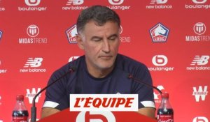 «Grosse incertitude» pour Renato Sanches selon Christophe Galtier - Foot - L1 - Lille