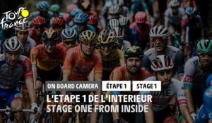 #TDF2020 - Étape 1 / Stage 1 - Daily Onboard Camera - Stage 1 one from inside / L'étape 1 de l'intérieur