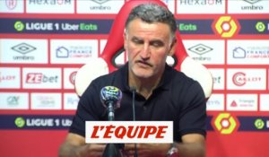 Galtier : «Bamba force le respect» - Foot - L1 - Losc