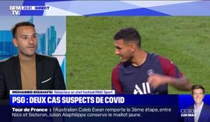 PSG: Paredes et Di Maria suspectés d'infection au Covid-19