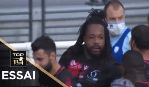 TOP 14 - Essai Mathieu BASTAREAUD (LOU) – Lyon - Racing 92 - J1 - Saison 2020/2021