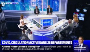 Covid, circulation active dans 28 départements - 06/09