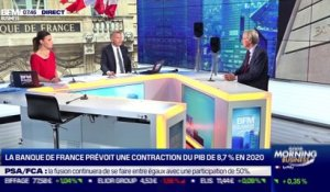 Olivier Garnier (Banque de France): La Banque de France prévoit une contraction du PIB de 8,7% en 2020 - 15/09
