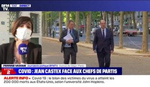 Covid-19: Jean Castex va faire un point sur la situation face aux chefs de partis