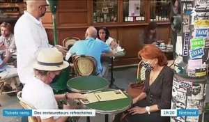 Tickets restaurants : certains restaurateurs les refusent