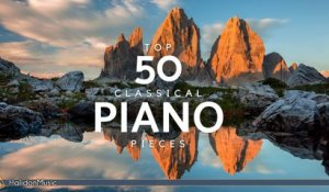 Various Artists - Top 50 Classical Piano Pieces