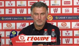 Galtier : «On aura des moments plus difficiles» - Foot - L1 - Lille