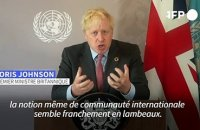 Devant l'ONU, Boris Johnson appelle à l'unité face aux pandémies