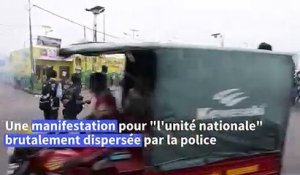 "RDC: dispersion d'une manifestation pour ""l'unité nationale"" à Kinshasa"