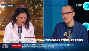 La chronique d'Anthony Morel : Des innovations pour les tests de dépistage du Covid - 15/10