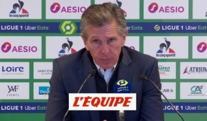 Puel : « J'attends beaucoup plus de Denis Bouanga » - Foot - L1 - Saint-Etienne