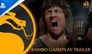 Mortal Kombat 11 Ultimate - Official Rambo Gameplay Trailer | PS4, PS5