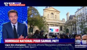 Story 6 : Hommage national à Samuel Paty - 21/10