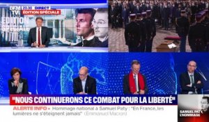 Samuel Paty: L'hommage national (2/2) - 21/10