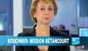 Kouchner : Mission Bétancourt - France24