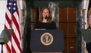 Donald Trump jubile avec la confirmation de la juge conservatrice Amy Coney Barrett