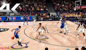 NBA 2K21 : 4 Minutes de Gameplay PS5/XSX