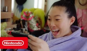 Awkwafina plays her favorite Nintendo Switch games – Animal Crossing: New Horizons