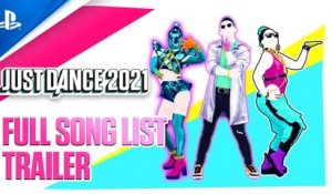 Just Dance 2021 - Full Songlist Trailer | PS4