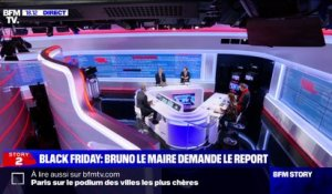 Story 5 : Bruno Le Maire demande le report du Black Friday - 17/11