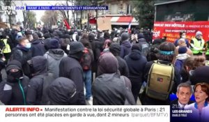 Manif à Paris : affrontements et dégradations - 05/12