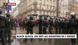 Black Blocks, un défi au maintien de l'ordre