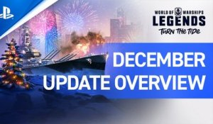 World of Warships: Legends – December Update Overview | PS4