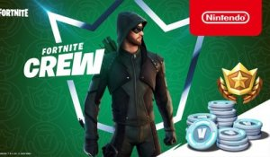 Green Arrow Arrives on the Island for Fortnite Crew Members - Nintendo Switch