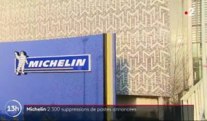 Michelin : suppression de 2 300 postes