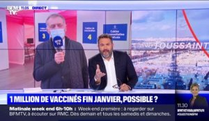 Covid : 1 million de vaccinés fin janvier, possible ? - 08/01