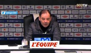 Moulin : «Je regrette le but que l'on concède» - Foot - L1 - Angers