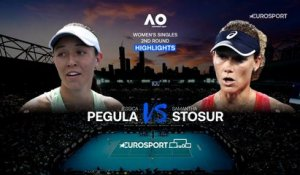 Highlights | Jessica Pegula - Samantha Stosur