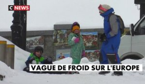 Vague de froid sur l'Europe