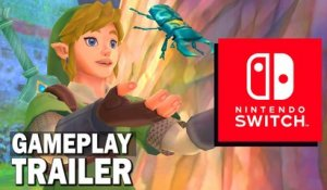 Zelda Skyward Sword HD : GAMEPLAY TRAILER OFFICIEL Nintendo Switch