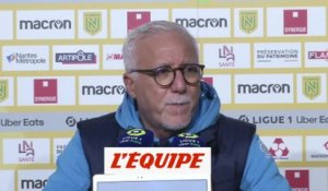 Larguet : «Un point de gagné» - Foot - L1 - OM
