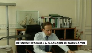 Jean-Christophe Lagarde en garde à vue pour «détention d'arme»