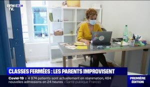 Classes fermées: comment les parents improvisent