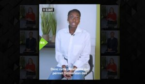 SMART PITCH - Le pitch de « WeartSkep » par Deborah N'zasi