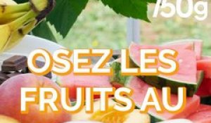 Comment cuire des fruits au barbecue ?