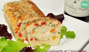Terrine de poisson aux Saint-Jacques